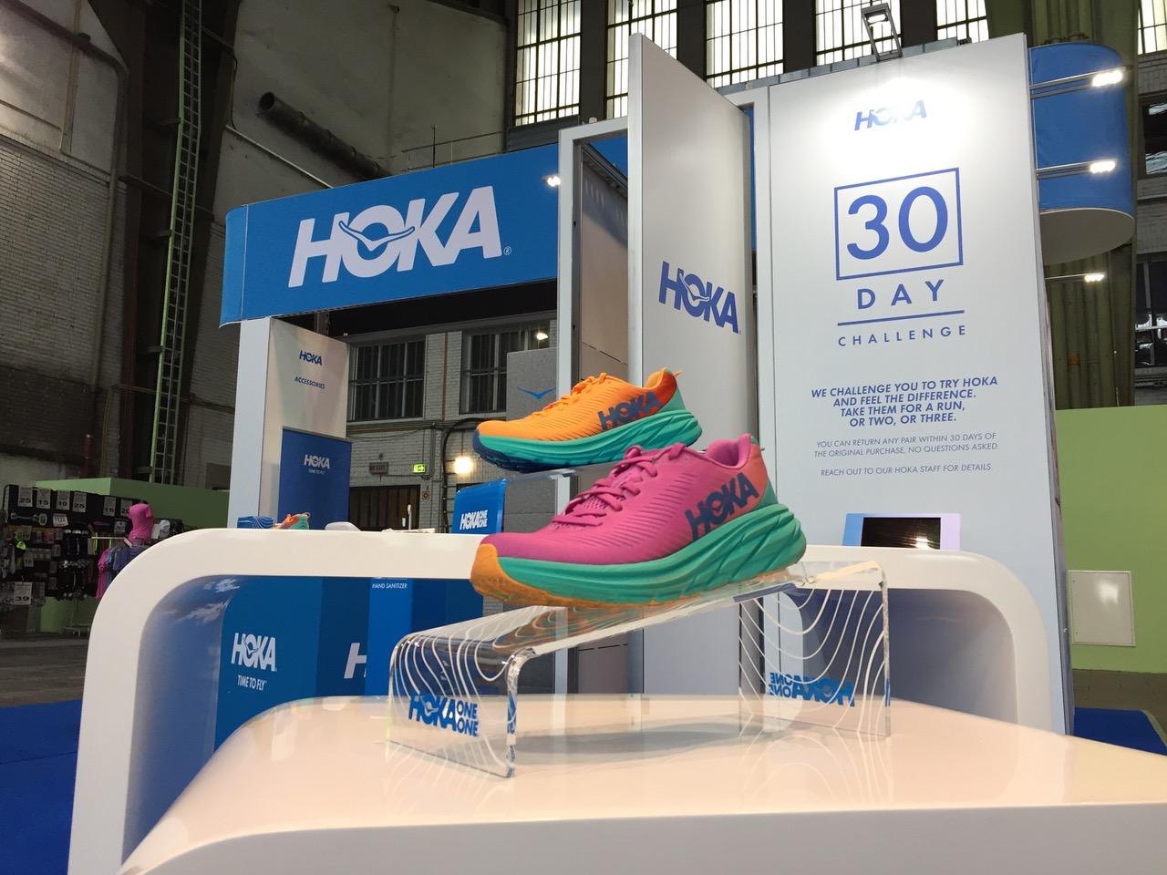 Promotion Hoka au Semi Marathon de Berlin